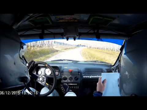 Vola Fabrizio - Rivella Luca su peugeot 205 Rallye gr. A - 1° Rallyday del Piemonte Dogliani (CN)
