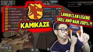 AWP SAKTI LAWAN CLAN LEGENDA?? MUSUH AUTO DOWN!! Point Blank Zepetto Indonesia