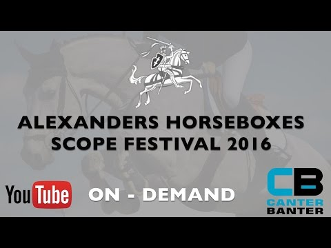 Alexanders Horseboxes Scope Festival | Equiport 5yr old Championship