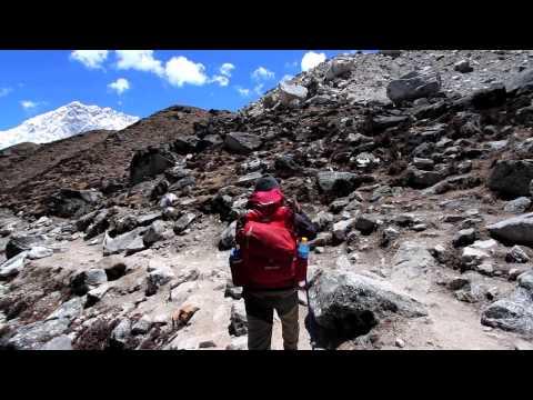Trekking to Base Camp
