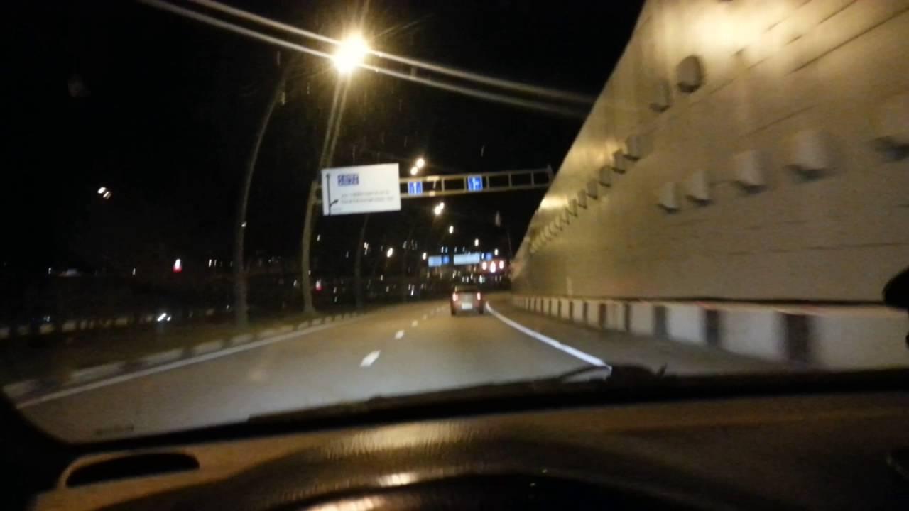 В Сочи на перекрёстке  столкнулись два автомобиля