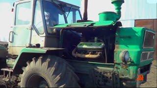 Qanday qilib, bir traktor T-150K hamda transaxle neft o'zgartirish
