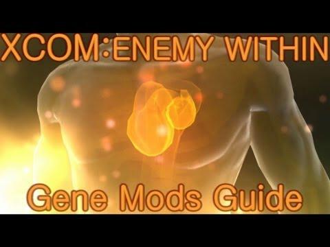 XCOM: Enemy Within - Gene Mods Guide