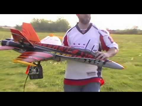 Banana Hobby F-18 - Pusher Conversion Maiden Flight