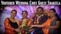 Youtuber Wedding Chief Guest Shakeela / Promo / World Food Tube