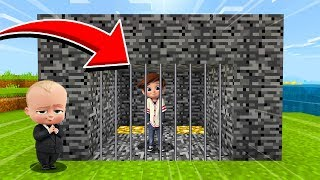 Minecraft : The BOSSBABY TRAPPED TIM! (Oh no)(Ps3/Xbox360/PS4/XboxOne/PE/MCPE)
