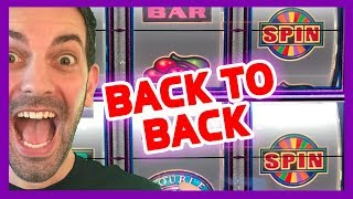 👯BACK TO BACK👯HIGH LIMIT Pinball💲💲💲Wheel of Fortune🎡💰Cosmopolitan✦ BCSlots