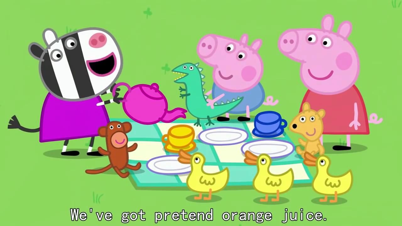 Peppa Pig 粉紅豬小妹 第二季【中文版 01】 高清HD - YouTube