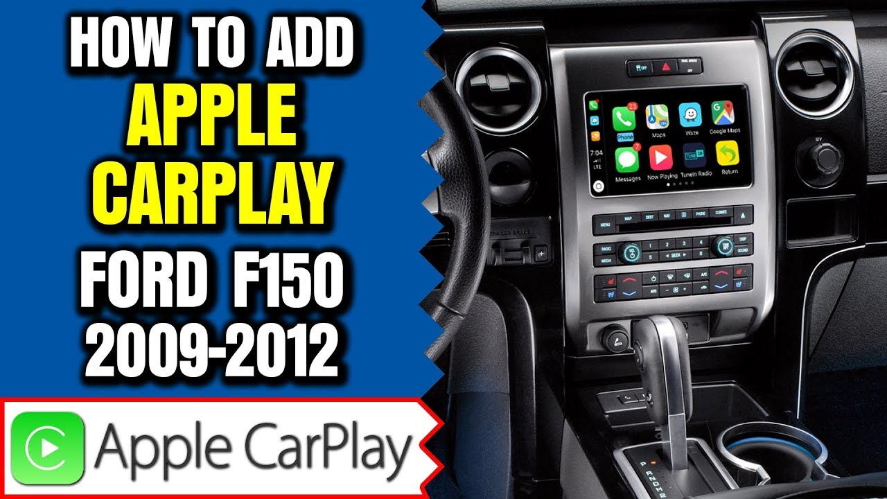 Ford F150 Apple Carplay Android Auto 2009 2012 Ford F150 Sync