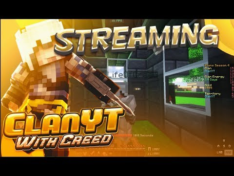 🔴STREAMING Mineplex ClanYT S4 EP3 | w/ LifeOfCreed🔴