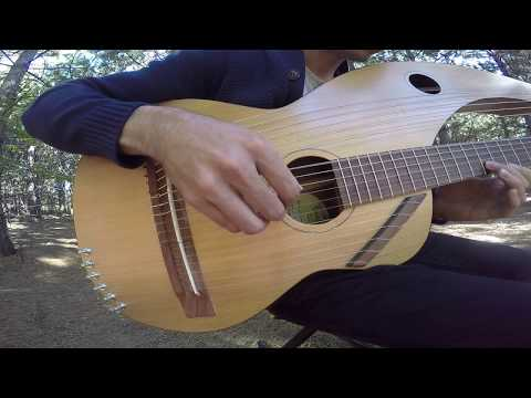 The Sound of Silence  18 String Harp Guitar
