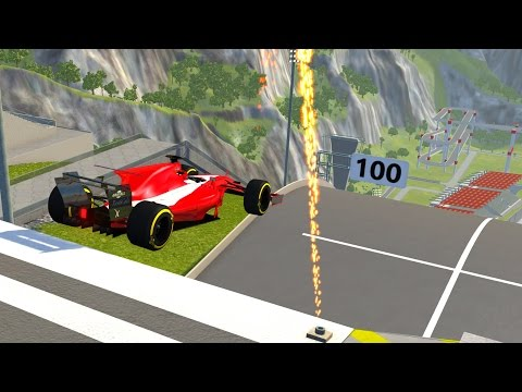 High Speed Jumps&Crashes #9 - BeamNG DRIVE