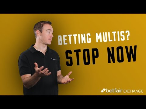 Multi Betting: Why You Shouldn't Bet On Multis