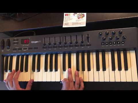 Hay libertad en la casa de Dios - Art Aguilera (piano tutorial)