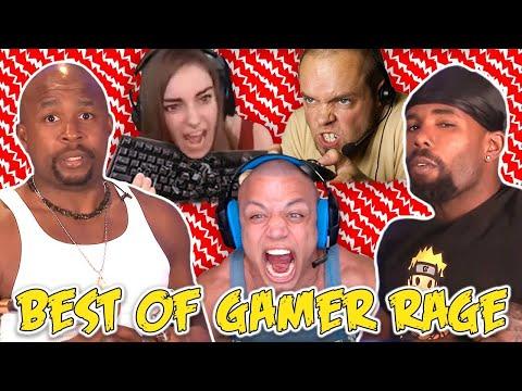 Ultimate Gamer Rage Compilation | Ft. KT |