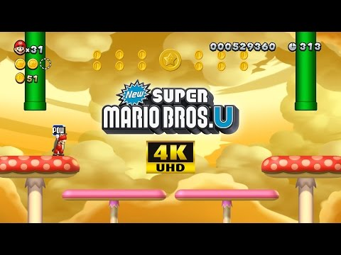 Cemu Emulator 1.7.4d | New Super Mario Bros. U [4K / 2160p / UHD / 60 FPS] | Nintendo Wii U