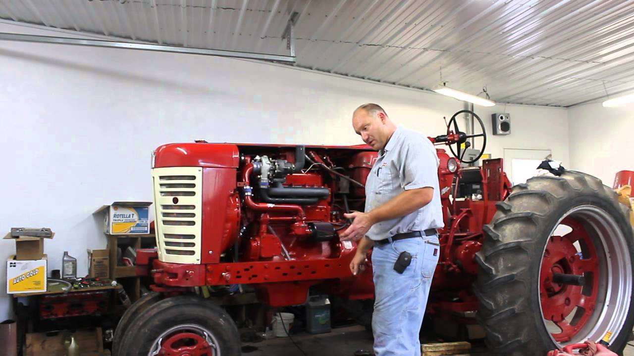 Pulling Tractors For Sale >> 450 Farmall gas with a Turbo Part 1........... - YouTube