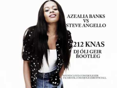Azealia Banks vs Steve Angello - Knas 212 (Dj Óli Geir Bootleg) | Radio edit