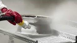 Alumiinivanteen soodapuhallus