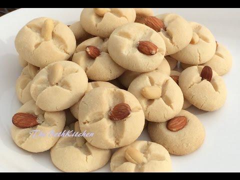 Cách làm Bánh Hạnh Nhân/Almond Cookies