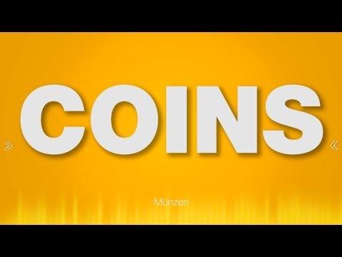 Coin - SOUND EFFECT - Money Münzen Geld - SOUND
