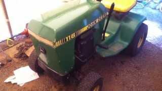 John deere 116 mower deck rebuilt