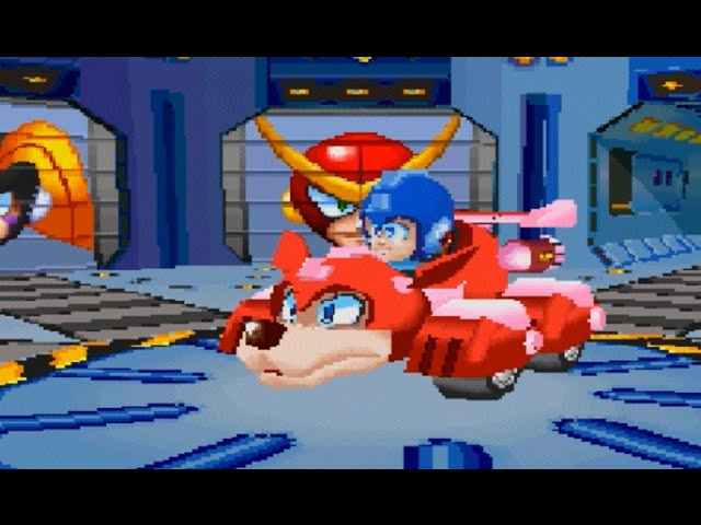 Mega Man Battle & Chase (PS1) Playthrough - NintendoComplete