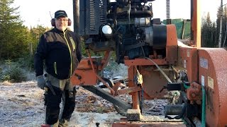 This Is What He Says About Woodmizer Sawmills After 5000h Of Milling