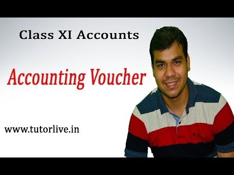 Accounting Voucher : XI Accounts - tutorlive