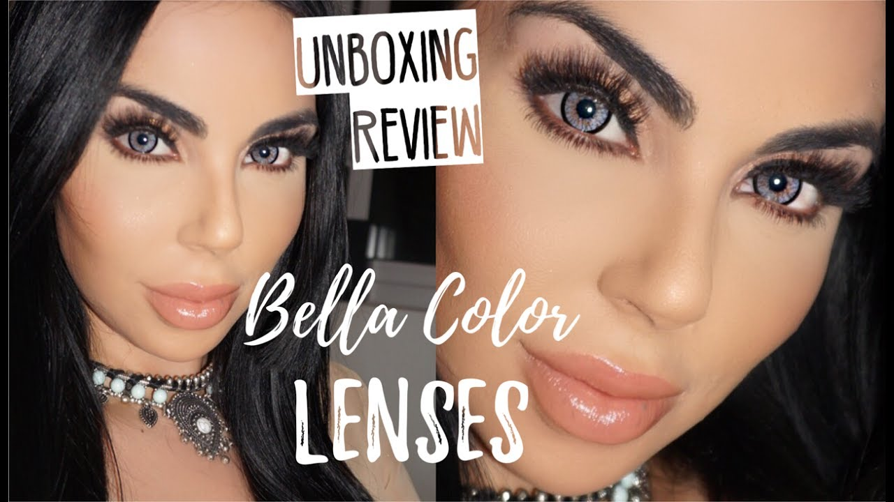 Lenses For Dark Eyes Bella Contacts Highlight And Contour