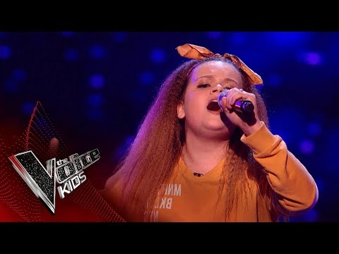 Hannah Performs 'Everybody Needs a Best Friend': Blinds 2 | The Voice Kids UK 2018