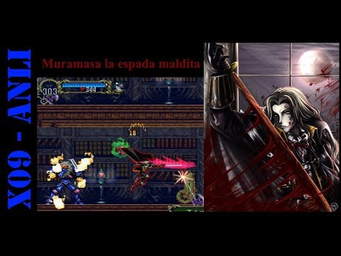 La espada mas poderosa en Castlevania Symphony of the NIght
