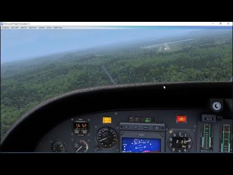 FSX Cessna Citation II KSVH Statesville, NC to KTRI Tri-Cities Regional