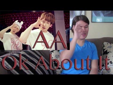 AA Ok About It MV Reaction