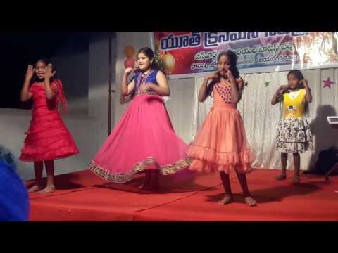 Illalona panduganta christian video song by sunday school children,JHMB church, polipalli