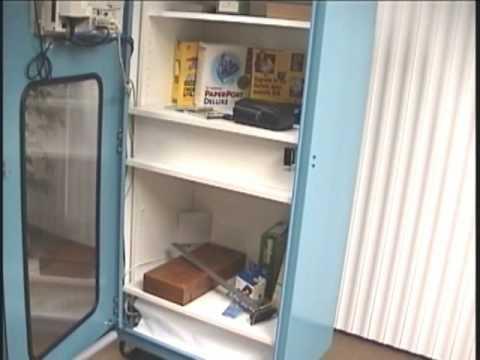 RFID Smart Cabinet - YouTube