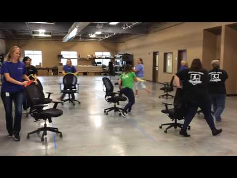 fice Olympics Synchronized Chair Dancing Cant Stop the Feeling