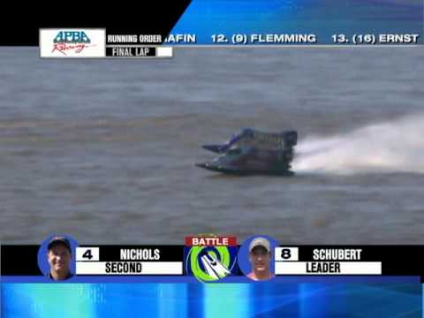 Powerboat Superleague in Memphis 2009 Formula 2 Race Finish