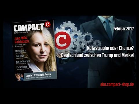 COMPACT Live: Deutschland im Spannungsfeld zwischen Trump und Merkel