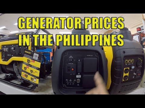 Generator Prices In The Philippines. (Stanley Brand)