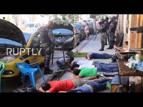 Brazil: Scores detained following mass protest over privatisation of public water company
