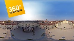 Ludwigsburg 360°: Flug über Residenzschloss Ludwigsburg