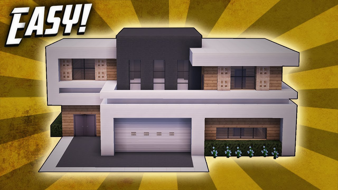Minecraft: How To Build A Large Modern House Tutorial (#25 ...