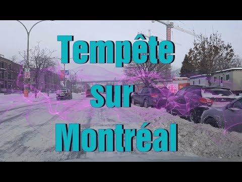 """Tempête sur Montréal après une ''bombe météo"""""""