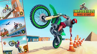 Ramp Bike Impossible Bike Stunt Game 2020