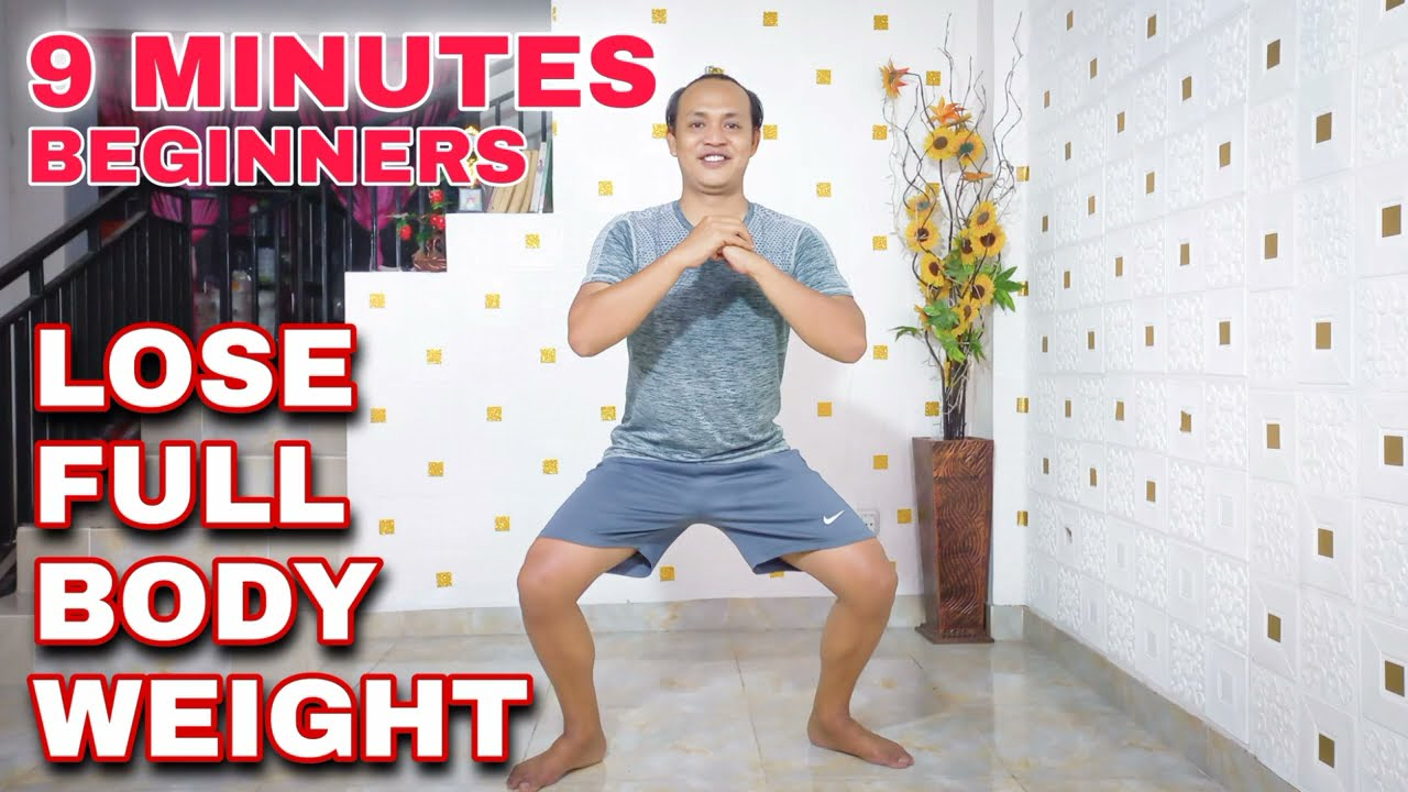 9 MINUTES Lose Full Body Weight   Beginners Workout