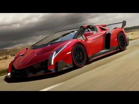 2017 Lamborghini Veneno Roadster Amazing Cars - YouTube