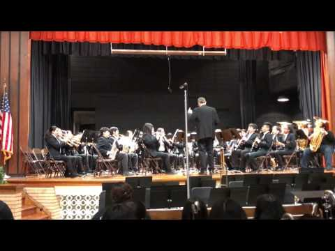 Espana Cani Perform by Stovall Middle School (Honors Band)