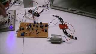 Optical Isolation Of H-bridge Motor Controls