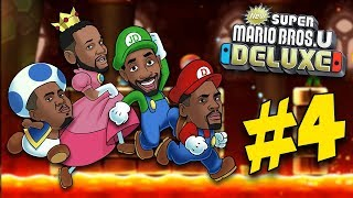 DAVES EPIC SABATOGE STRIKES AGAIN! - New Super Mario Bros U Deluxe #4